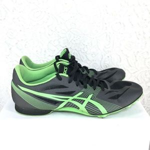 B53 Asics hyper MD Track Shoes Spikes mens Size 10
